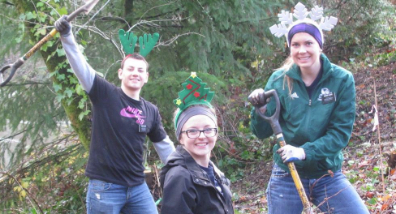 Tualatin Riverkeepers has the true holiday spirit!