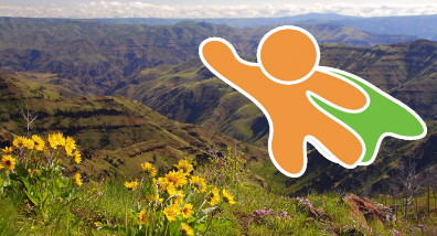Thanks, ecoheroes--that msean you! (Photo courtesy Hells Canyon Preservation Council)