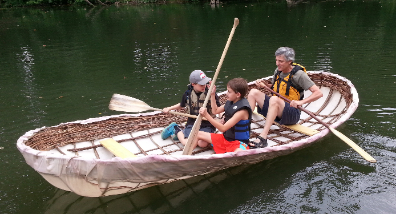 TRK Summer Camp Currach Building