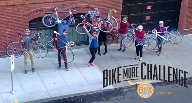 The all-new #BikeMore Challenge, coming in May!
