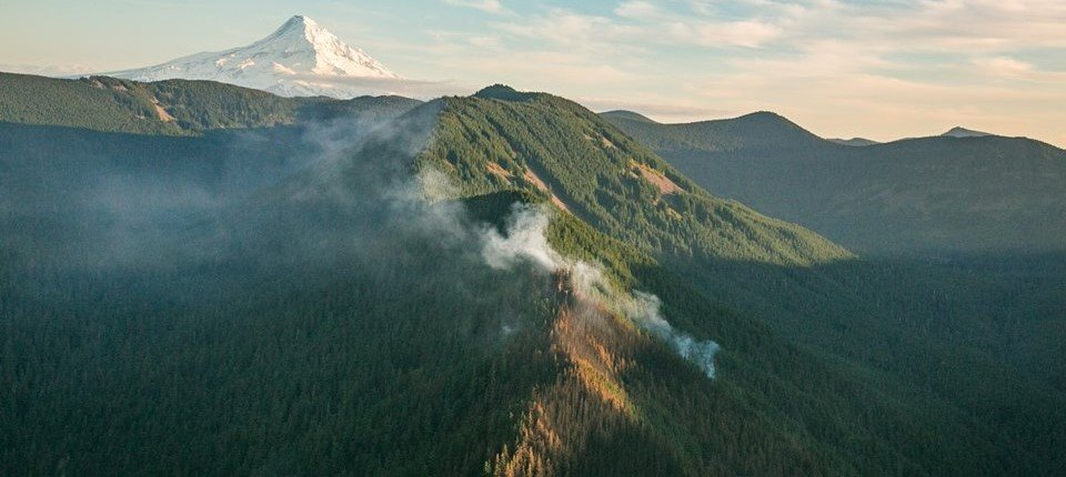 Photo of the Eagle Creek Fire by Trip Jennings